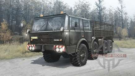 Tatra T813 TP 8x8 für MudRunner