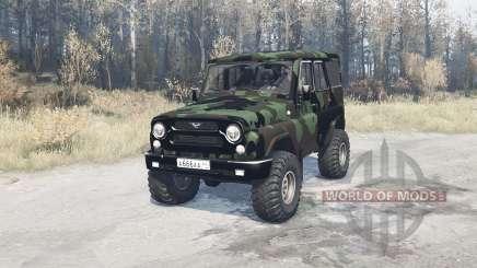 UAZ hunter (315195) expédition pour MudRunner