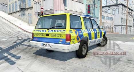 Gavril Roamer spanish police v3.7 pour BeamNG Drive