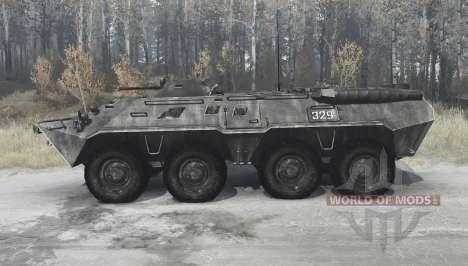 BTR-80 (GAZ 5903) pour Spintires MudRunner