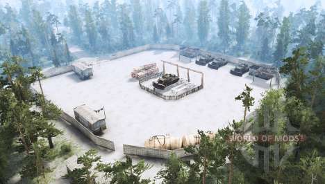 La taille maximale pour Spintires MudRunner