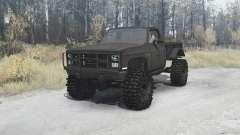 Chevrolet K5 Blazer M1008 pour MudRunner