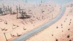 Par le biais de la sécheresse et de l'off-road v