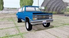 Chevrolet K30 1984 v1.1 pour Farming Simulator 2017