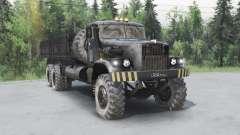Kraz 257 pour Spin Tires