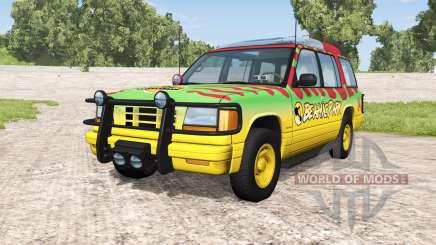 Gavril Roamer Tour Car Beamic Park v1.1 für BeamNG Drive