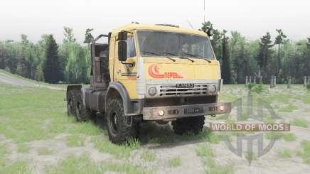 KamAZ-53504 v1.Sieben für Spin Tires