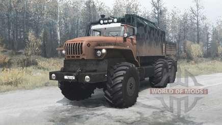 Ural Polyarnik 4320-60 für MudRunner