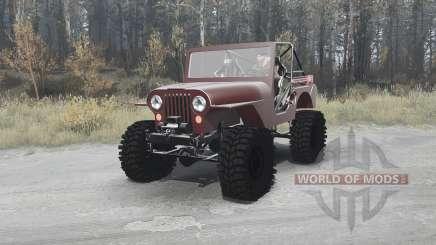 Jeep CJ-5 1954 pour MudRunner