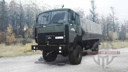 Le MAZ-5316 pour MudRunner