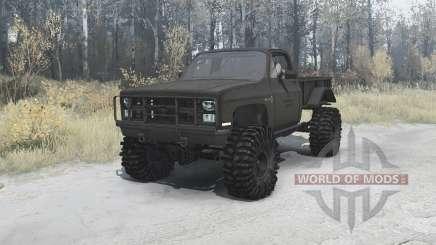 Chevrolet K5 Blazer M1008 für MudRunner