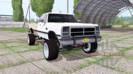 Dodge Ram D250 Club Cab 1991 pour Farming Simulator 2017