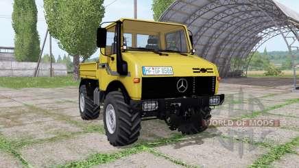 Mercedes-Benz Unimog U2100 v3.1 für Farming Simulator 2017