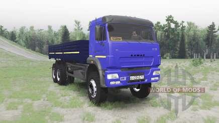 KAMAZ 65117 für Spin Tires