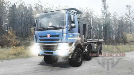 Tatra Phoenix T158 8x8 2012 für MudRunner