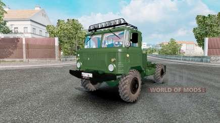 GAZ 66 pour Euro Truck Simulator 2