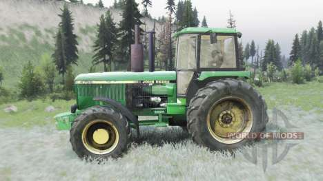 John Deere 4755 pour Spin Tires