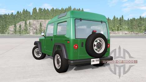 Ibishu Hopper Tall Top pour BeamNG Drive