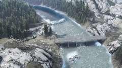 Mountain river für Spin Tires