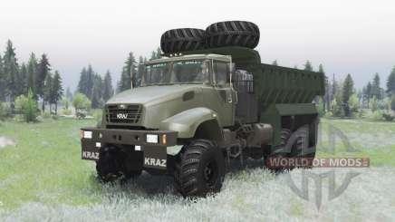 KRAZ 65032 2012 für Spin Tires