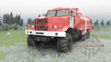 KrAZ 255B AC 8,5 in für Spin Tires