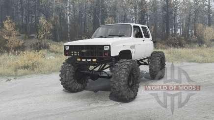 Chevrolet K30 crawler pour MudRunner