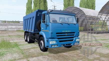 2009 KAMAZ 6520 pour Farming Simulator 2017