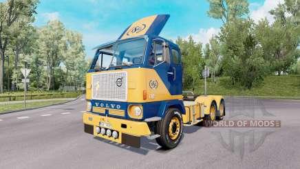 Volvo F88 6x4 tractor 1965 für Euro Truck Simulator 2