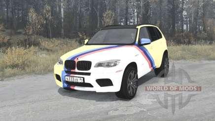 BMW X5 M (E70) Smotra Run 2013 für MudRunner