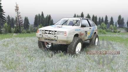 VAZ 2108-Rallye für Spin Tires