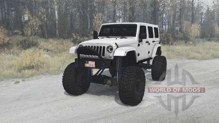 Jeep Wrangler Unlimited (JK) 2010 für MudRunner