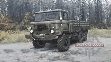 Le GAZ-34 expérimentés 1964 v2.0 pour MudRunner