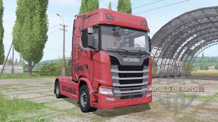 Scania S 680 V8 2016 für Farming Simulator 2017