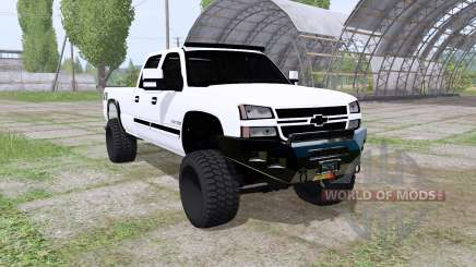Chevrolet Silverado 2500 HD Crew Cab 2006 für Farming Simulator 2017