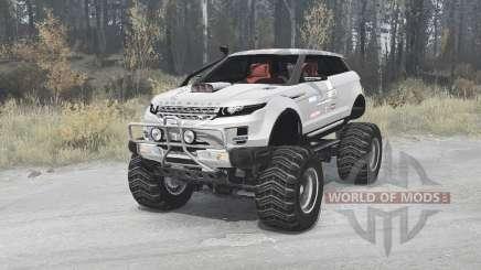 Land Rover Range Rover LRX 2008 pour MudRunner