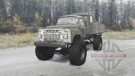 GAZ 52 4x4 für MudRunner