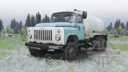 GAZ 53A KO-503B-2 pour Spin Tires