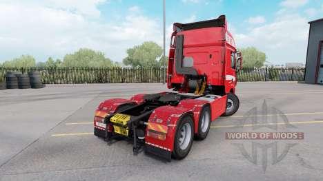 DAF CF85.480 6x4 Space Cab 2006 pour American Truck Simulator
