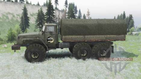 Ural 4320 pour Spin Tires