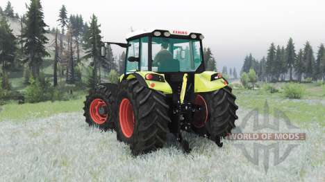 CLAAS Axos 330 pour Spin Tires