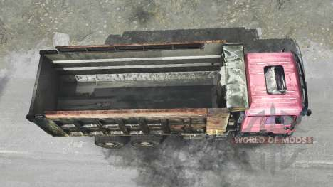 Shacman F2000 pour Spintires MudRunner