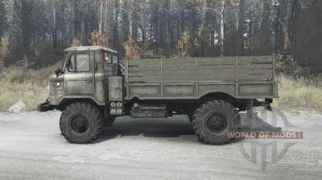 GAZ 66 pour Spintires MudRunner