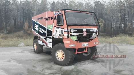 Tatra T815 4x4 Dakar pour Spintires MudRunner