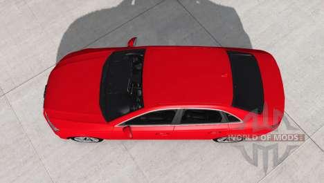 Audi A4 TFSI quattro S line (B9) 2016 pour BeamNG Drive