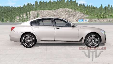 BMW 750i xDrive M Sport (G11) 2016 pour BeamNG Drive
