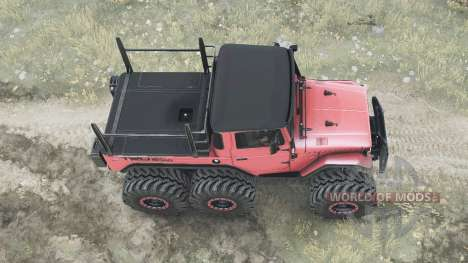 Toyota Land Cruiser 40 6x6 pour Spintires MudRunner
