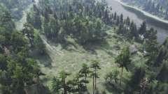 The Forest Roads v1.01 für Spin Tires