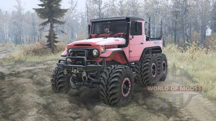 Toyota Land Cruiser 40 6x6 pour MudRunner