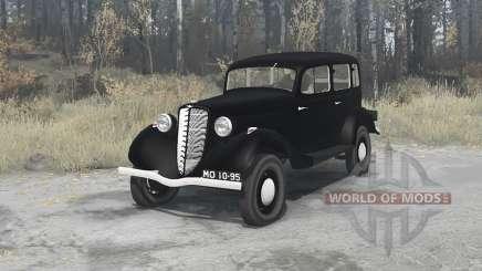 GAZ M1 1936 pour MudRunner