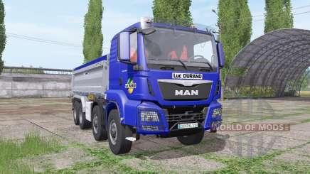 MAN TGS 35.440 8x8 Meiller 2012 pour Farming Simulator 2017